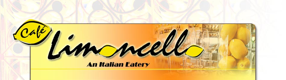 Cafe Limoncello Home Banner